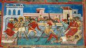 Religios Scene From Voronet