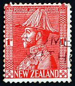 Postage Stamp New Zealand 1926 King George V