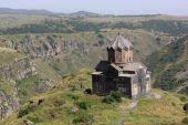 pic of apostolic  - Apostolic Church on Mount Aragats in summer Armenia - JPG