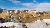 Rhyolite Mountains, Landmannalaugar Trail, Laugavegurinn, Iceland