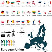 Maps Of European Union