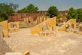 Astronomy Instruments In Jantar Mantar