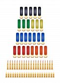 Set Of Various Bullets
