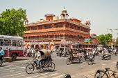 In The Streets Of Jaipur
