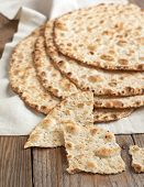 Sesame Seeded Flatbread