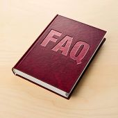 Faq Book. Frequently Asked Question.