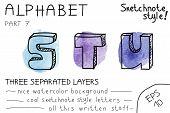 Colorful alphabet - Part 7