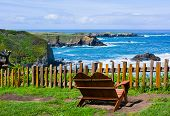 stock photo of mendocino  - California Coast in Mendocino - JPG