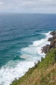 Overlooking the Ocean from the Australian Hillside