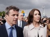 Denmark Prince Frederik And Princess Mary Visit Poland