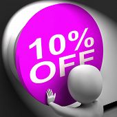 Ten Percent Off Pressed Shows 10 Markdown Sale
