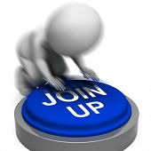Join Up Pressed Means Group Membership Or Subscription