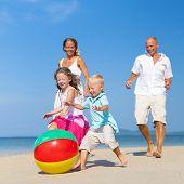Summer Beach Family Fun.