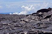 Lava Rock And Smoke