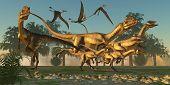 Dilophosaurus Hunt