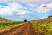 Easter Island Dirt Road