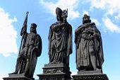 Beautiful Prague Bridge Statues