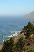 image of pch  - Landscape along Highway 1 in Southern California - JPG