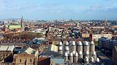 picture of guinness  - View over Dublin with a part of it - JPG