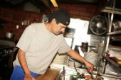 Hispanic Cook