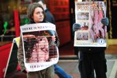 Anti-Fur Protests in Dublin City