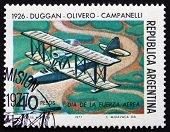 Postage Stamp Argentina 1977 Double-decker, 1926