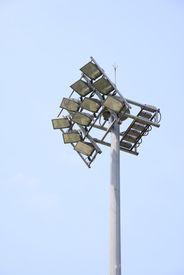 image of lightning-rod  - Set of Lights for Stadium and lightning rod - JPG
