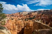 Storm Clouds Over Bryce Canyon