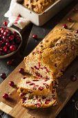 Homemade Festive Cranberry Bread