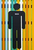 Man Restroom Sign