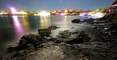 Colourful Long Exposure Gulf Panorama