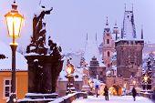 Charles Bridge, Lesser Town, Prague (unesco), Czech Republic