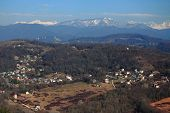 image of sochi  - aerial view of Matsesta - JPG