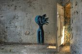 Graffiti In An Abandoned Hospital