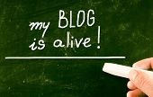 My Blog Is Alive!