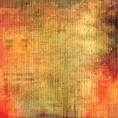 Background with grunge stains. With different color patterns: orange; red; brown; yellow