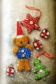 Christmas Decorations, Bear And Decor