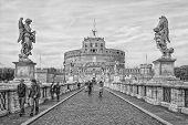Rome Castel Sant Angelo Mono