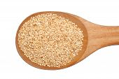 Spoonful Of Toasted Sesame Seeds
