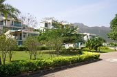 picture of lantau island  - Apartment blocks in Lantau Island Hong Kong - JPG