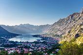 Nice mountain and sea view. Kotor. Montenegro