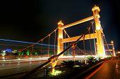 Lizhe bridge at night in Guilin, Guangxi, China.