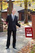 Smiling Real Estate Broker