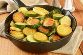 Stir Fried Squash