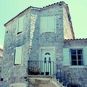 Mediterranean Stone Medieval House