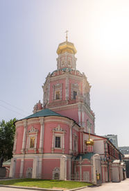 picture of epiphany  - The Cathedral of Bogoyavlensky or Cathedral of Epiphany part of a monastery established by Prince Daniel in the late 13th century to protect the inhabitants of the then unwalled suburb - JPG