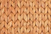picture of twist  - Twisted straw background from aquatic hyacinth close up - JPG