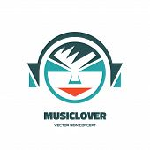 stock photo of logo  - Music lover  - JPG