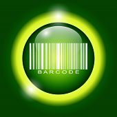 stock photo of barcode  - Barcode icon vector illustration - JPG