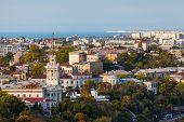 stock photo of sevastopol  - Nice summer panorama of Sevastopol - JPG